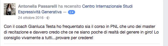 recensione Antonella Passarelli