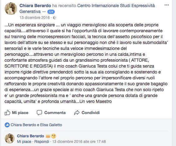 recensione Chiara Berardo