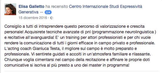 recensione Elisa Galletto