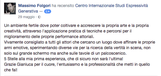 recensione Massimo Folgori