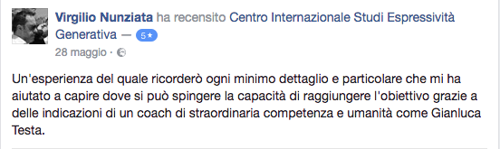 recensione Virgilio Nunziata
