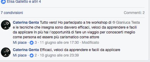 testimonianza Caterina Genta cinematti