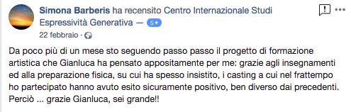 recensione Gianluca Testa barberis